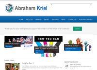 Abraham Kriel Kindersorg / Childcare's website