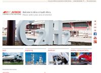 Afrox Ltd's website