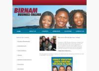 Birnam Business College's website