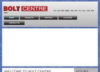 Bolt Centre's website