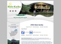 Klein-Kariba Holiday Resort's website