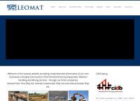 Leomat Plant Hire and Construction (Pty) Ltd's website