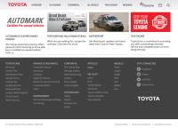 Mafikeng Toyota's website
