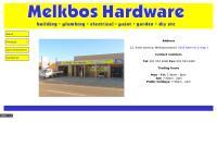 Melkbos Hardware's website