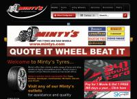 Minty's Tyres & Mags's website