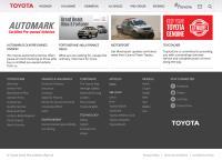 Mortimer Toyota's website