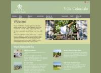 Villa Coloniale's website