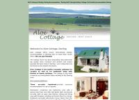 Aloe Cottage's website