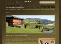 Sani Valley Lodge's website