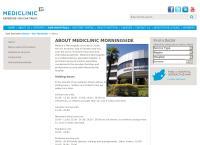 Morningside Medi-Clinic's website