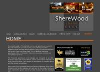 Sherewood Lodge's website