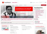 LexisNexis's website