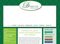 Le Domaine Villages's website