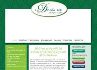 Le Domaine Villages's website