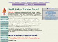 South African Nursing Council's website