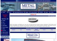 Metal Used Spares and Rebuilds's website