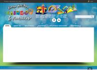 Rainbow Inflatables's website