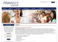 Pinnacle Health Solutions's website
