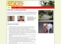 Disami Kennels's website