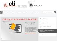 Cti Education Group's website