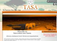 Tasa Lodge and Travel's website