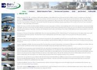 Bidair Services's website