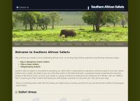 Southern African Safaris's website