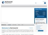 Barloworld Equipment's website