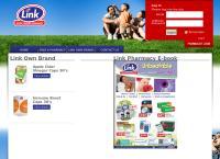 Link Pharmacy's website