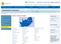 Adt Johannesburg's website