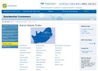 Adt Johannesburg's website