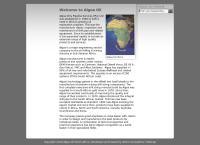 Algoa Oil & Pipeline Services Pty Ltd's website