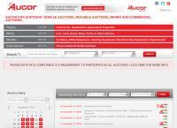Aucor - Cape Town's website