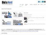 Dial-a-Nerd's website