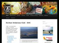 Durban Undersea Club's website