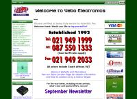 Yebo Electronics Pty Ltd's website