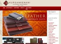Kurgan Kenani Leather's website