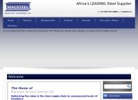 Macsteel Trading - Cape Town's website