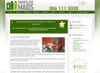 Marvellous Maids - Northern Suburbs's website