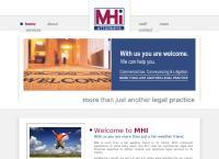 Malherbe Hanekom Inc Attorneys's website