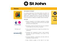 St John Ambulance - Durban Centre's website