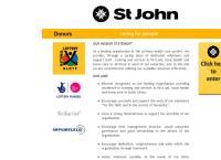 St John Ambulance - Port Elizabeth's website