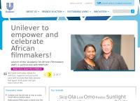 Unilever South Africa Pty Ltd's website