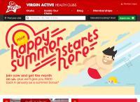 Virgin Active - Claremont's website