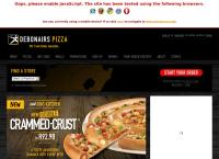 Debonairs Hatfield's website
