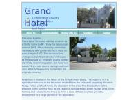 The Travel Lodge's website