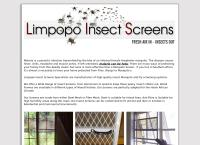Limpopo Insect Screens Specialists's website