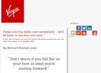 Virgin Active Gym's website