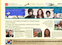 Teachkorea's website