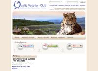 Quality Vacation Club's website